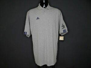 adidas Polo shirt gray Men's Size XL (BIG AND TALL) NWT (NEW)