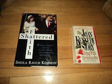 2 Kennedy Books Faith Shattered Sheila Rauch Congressman Joe Joan Kennedy Story