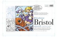 Strathmore 200 Series Bristol Drawing Pad, 11 x 17 Inches, 100 lb, 24 Sheets