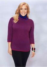 Hüftlange Sheego Damen-Pullover & -Strickware in Übergröße