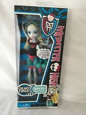 NIB Mattel MONSTER HIGH Doll LAGOONA BLUE 2010 DEAD TIRED-Unopened Free Ship!