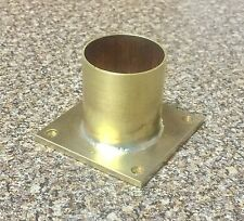 """1.25"""" Flanged Straight Connector For Player Piano Restoration 1 1/4"""""""