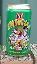 2007 VB Boonaza 11 Battle of the Tashes Cricket Empty Can Bottom Opened Limited