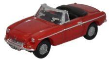 "N Scale vehicle, car - MG Roadster ""Tartan Red"""