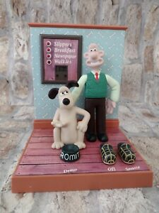Vintage Wallace And Gromit Digital Alarm Clock in full working order