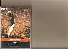 INXS LIVE BABY LIVE DVD WEMBLEY STADIUM 1991 MUSIC CONCERT RARE