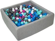 Piscina infantil para niños de bolas pelotas 450 piezas, aprox. 90x90cm