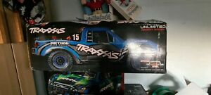 Traxxas unlimited desert racer blue edition