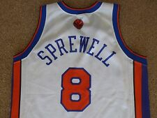MENS VINTAGE NEW YORK KNICKS SPREWELL CHAMPION NBA JERSEY SHIRT VEST CHAMPION M