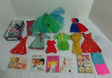Vintage 1960'S Barbie Clothing Dresses Nice Assortment All With Barbie Tags