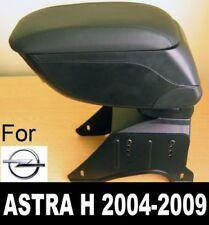 Bracciolo Portaoggetti Pelle Nero Specifico per Opel Astra H