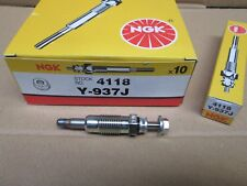 FORD 1.8 D & TD ESCORT MONDEO FIESTA COURIER GLOW PLUG NGK Y- 937 J NEW