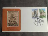 SCOTT #1609-10 1978 FRANCE EUROPA '78 STAMPS FDC FLEETWOOD CACHET