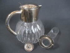 Kalte Ente Glas Karaffe Saft Krug Blei Kristall HKE