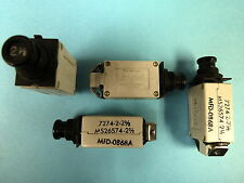 4 New KLIXON 7274-2-2.5 Circuit Breaker 2-1/2 AMP MS26574-2-2-1/2