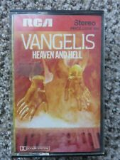 Vangelis Heaven and Hell Tape Cassette RCA