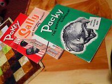 Packy the runaway Elephant, Sally the runaway monkey, Pokey the runaway bear SDA