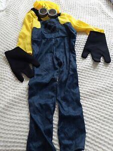 Minion costume kids size 6