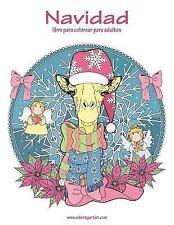 Navidad: Navidad Libro para Colorear para Adultos 1 by Nick Snels (2016,...