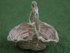 Flower Basket, Dolls House Miniatures, Accessory, 1.12 Scale