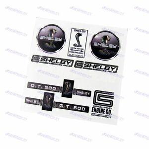 For Shelby Mustang GT AC Cobra Reflective Car Door Window Vinyl Decal Sticker X1