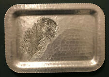 Trade Continental Mark Silver Look Hand Wrought #635 Tray