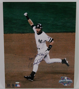 Derek Jeter signed autographed 16x20 photo! RARE! Steiner COA! 13717