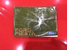 Ford Fiesta Mk2 Genuine FORD Owners manual livret
