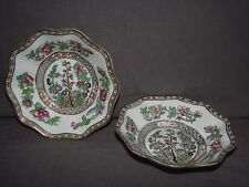 "Set of 2 Coalport Indian Tree (Multicolor) 6"" Cereal Bowls"