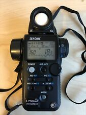 Sekonic L-758DR - includes optional RT Module 32 flash trigger