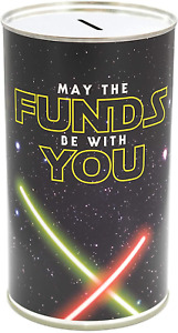 CanTastic May The Funds Be with You, Large Savings Tin, Star Money Box Wars