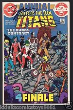 The Teen Titans Annual #3 Signed by Dick, Marv, Perez, 2nd App of Nightwing WCOA