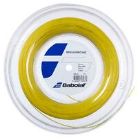BABOLAT RPM HURRICANE TENNIS STRING - 1.25MM 17G - 200M REEL - YELLOW - RRP £200