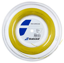 BABOLAT RPM HURRICANE TENNIS STRING 1.25MM 17G - 200M REEL - YELLOW - RRP £200