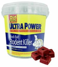 BIG CHEESE POISON ULTRA POWER BLOCK BAIT KILLER STRONG RAT MOUSE RODENT CONTROL