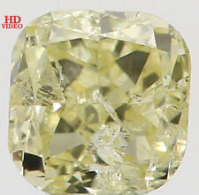 Natural Loose Diamond Yellow Color Cushion I1 Clarity 2.90 MM 0.15 Ct L5491