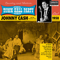 "Johnny Cash • Town Hall Party 1958 • 12"" VINYL RECORD LP 2003 Sundazed •• NEW ••"