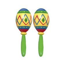 Fiesta Fun Party Maracas Mexican Spanish Party Supplies, Noise Maker Favors~ 2ct