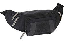 Bauchtasche Doggy Bag Schwarz Gürteltasche Hüfttasche 3L Elephant World Tours