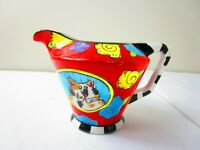 Vintage Catzilla Candace Reiter Creamer Small Pitcher 2005