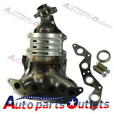 Exhaust Manifold with Catalytic Converter for 2001-2005 Honda Civic 1.7L L4 SOHC