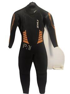2XU Neoprenanzug P:1 PROPEL für Herren - Größe SM - Farbe Schwarz-Orange -NEU