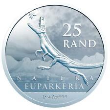 Südafrika - 25 Rand 2019 - Natura - Archosaurier - Anlagemünze - 1 Oz Silber ST