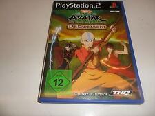 PlayStation 2  PS 2  Avatar: Der Herr der Elemente - Die Erde brennt