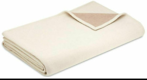🆕️FRETTE Amelie Ameli Queen Blanket Wool Cashmere 100% Authentic New Orig $950