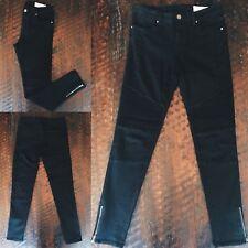 Moto Jegging - Black - Women's Size Medium - BRAND NEW zip ankle length
