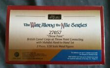 """Britains -The War Along the Nile Series  Set 27057 Throw Point"""" 2 piece"""