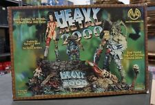 "Heavy Metal 2000 10""x12"" Porcelain Hand-Painted Statue MOORE CREATIONS /1500"
