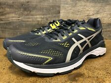 ASICS GT-2000 7 Running Shoes Men's Size 13 Wide (2E) - Tarmac / Lemon Spark