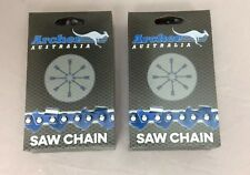 """2 Pack 20"""" Archer Chainsaw Chain .325 pitch FULL CHISEL .050 Gauge 80 DL drive"""